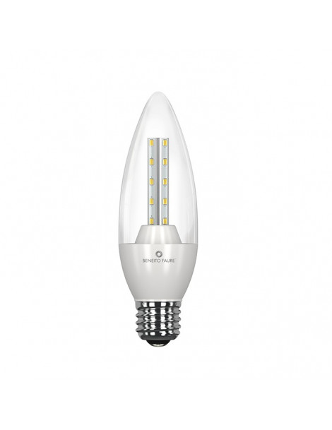 Vela Flama E14/E27 8W Transparente