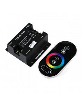 Controlador Radiofrecuencia Tiras RGB 12V y 24V