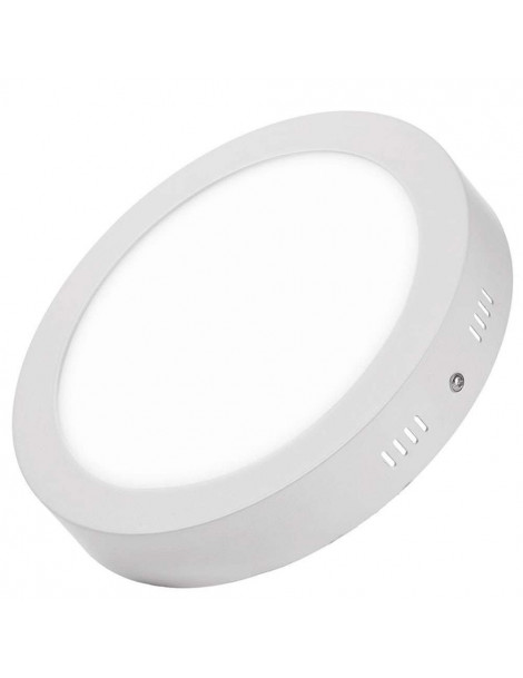 Downlight Superficie Redondo 20W Blanco 242mm