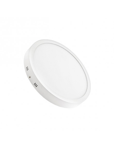 Downlight Superficie Redondo 24W Blanco 300mm