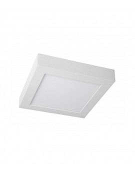 Downlight Superficie Cuadrado 12W Blanco 170x170mm