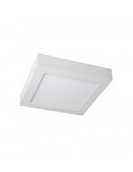 Downlight Superficie Cuadrado 20W Blanco 242x242mm