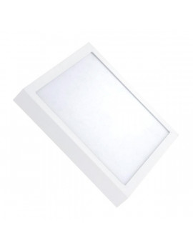Downlight Superficie Cuadrado 24W Blanco 300x300mm
