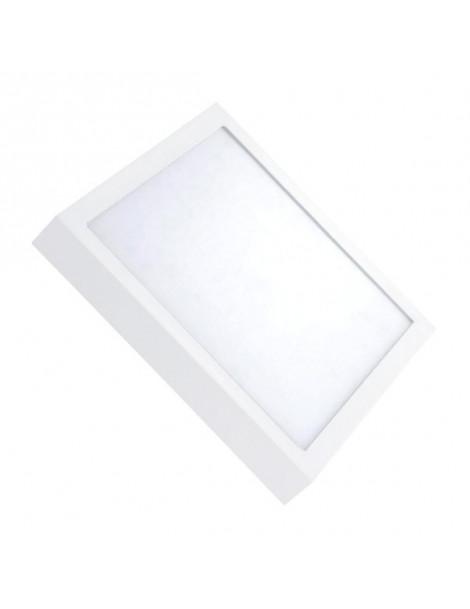 Downlight Superficie Cuadrado 24W Blanco 300x300mm