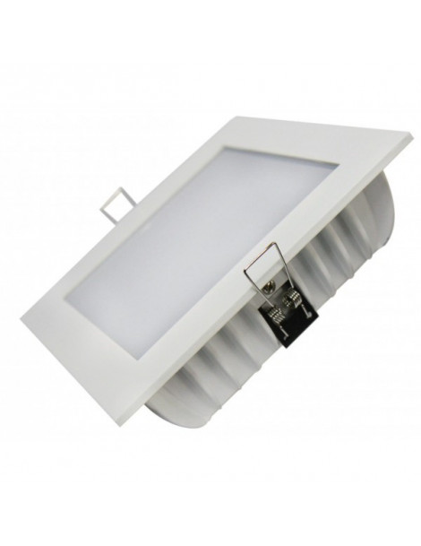 Downlight Cuadrado Arcade 24W Blanco 195x195mm
