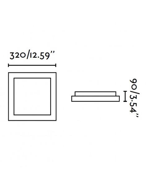 Plafón Tola-2 2xE27