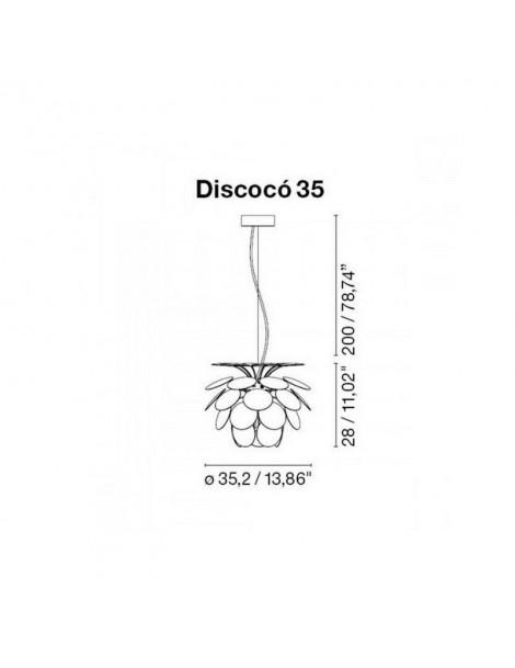 Colgante Discocó 35