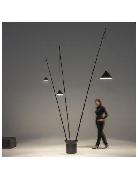 Lámpara de Pie North 3 Varillas