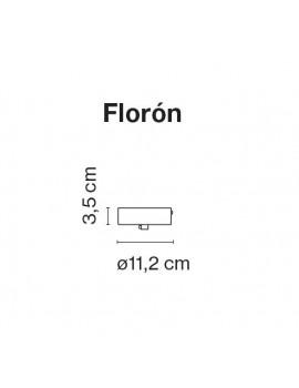Accesorio florón Blanco Santorini