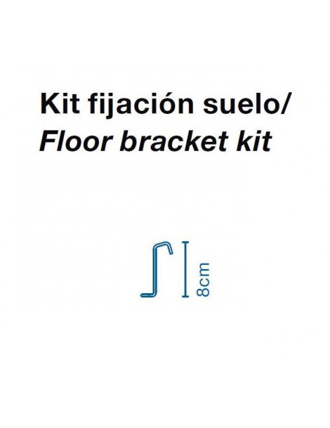 Accesorio Kit Fijación Suelo Cala 140 IP65