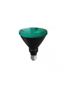 Bombilla PAR38 15W Verde