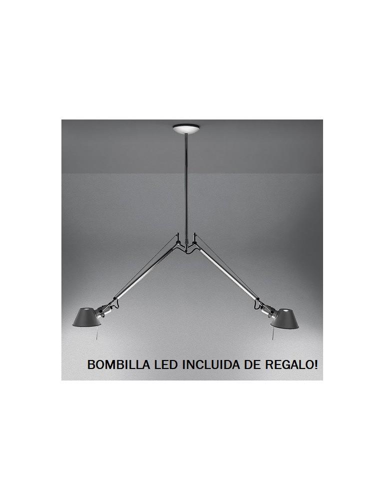 Colgante Tolomeo Dos Brazos 2xE27