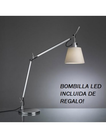 Flexo Tolomeo Basculante 1xE27 c/Base