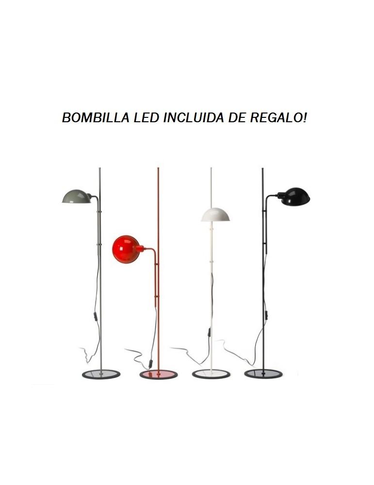 Lámpara de pie Funiculí 1xE27