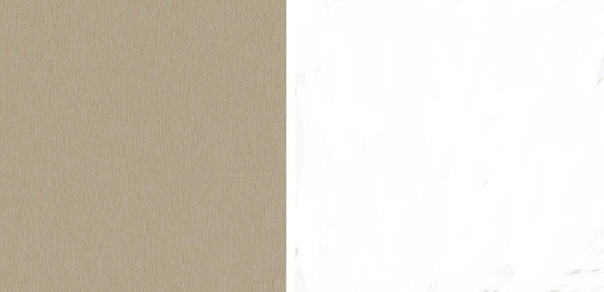 Latón cepillado-blanco